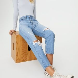 Levi's Wedgie Straight Jeans Authentically Yours